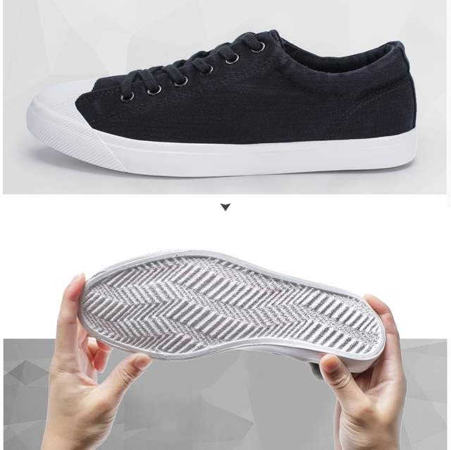 a864800dd4d placeholder New Spring Men s Casual Flat Velvet Loafers Snakers Breathable  Canvas Men Vulcanized Shoes Male Ultras Boosts