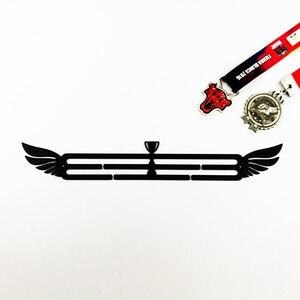 Image 4 - Sport medal hanger Medal display rack for running,swimming,gymnastics Metal medal holder for 20+ medals