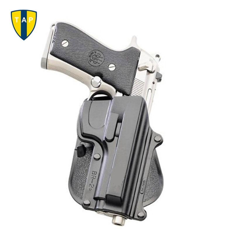 Tactical Gun Holster BR2 Beretta 92/96 (Except Brig & Elite) Paddle Holster Taurus 92/99/Cz 75B .40 Double Magazine Pouch 6909
