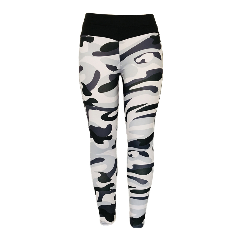 High Quality Women Leggings High Elastic Skinny Camouflage Legging Spring 2019 new Summer Slimming Women Leisure Jegging Pants in Leggings from Women 39 s Clothing