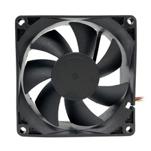 NEW F8025 80mm Computer Cooling Fan NEW Silent 12V Desktop Fan Controller PC Case Fan