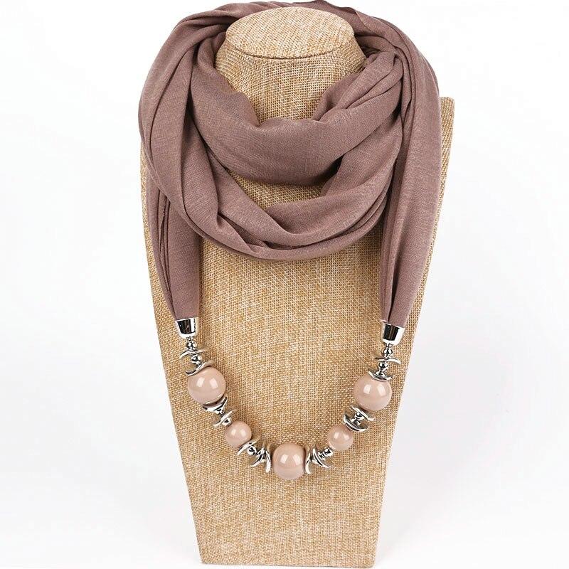 Collane Perline Sciarpa Sciarpe Ciondolo Per Donne L Mantieqingway 5tCwq5