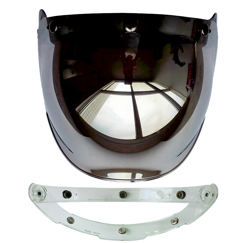 (1pc & 5colors) 100% Originele Motorhelm Vizier Shield Retro Hallar - Motoraccessoires en onderdelen - Foto 5