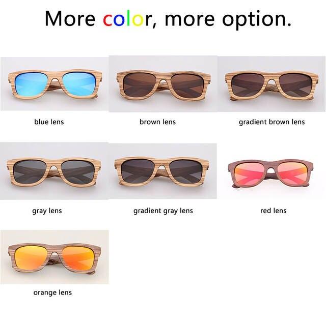 8bd7e2c6363 placeholder Mens Luxury Brand Real Zebra Wooden Sunglasses Frames Custom  Logo Bamboo Sunglasses Men Polarized UV400 Lens