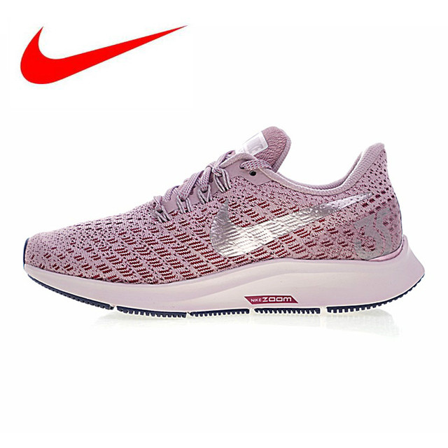 6e823c4cb NIKE AIR ZOOM PEGASUS 35 Women's Running Shoes, Wear-resistant Breathable  Lightweight Shock Absorbed, Purple 942855 601