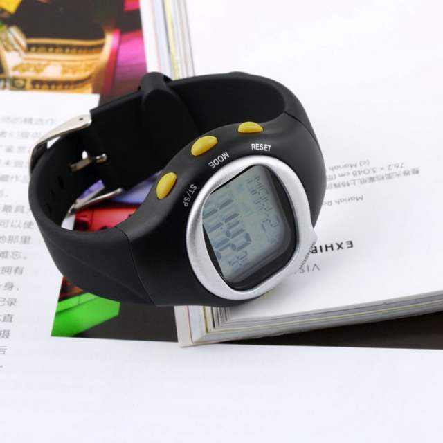 TSAI Pulse Heart Rate Monitor Wrist Watch Calories Counter Sports Fitness  Exercise Wholesale Drop Shipping