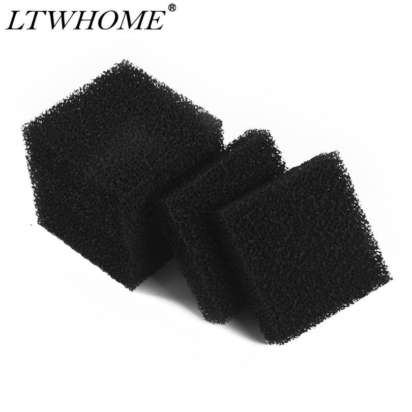 LTWHOME Compatible Carbon Aquarium Foam Filter Pads Fit For Juwel Compact / Bioflow 3.0