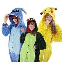 23 Style In Chinese Market Online Unicorn Unicornio Panda Bear Pokemon Pikachu Stitch Pajamas Onesie For