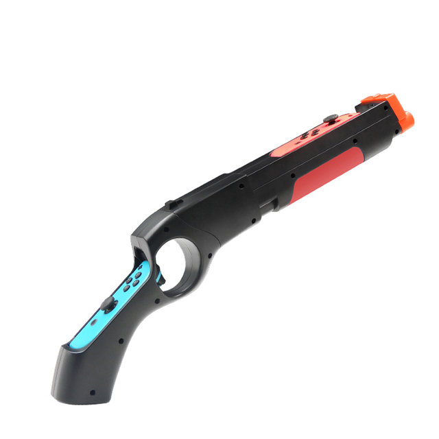 Nintend Switch NS Joy-con Games Peripherals Handgrip Sense Shooting Gun Handle Joystick Holder for Nintendo Switch Controller 4