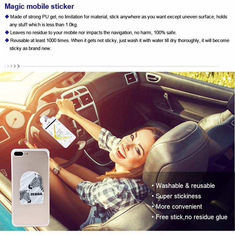 Dudukan telepon mobil yang Universal untuk iPhone 7 6 5S telepon - Aksesori dan suku cadang ponsel - Foto 5