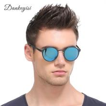 DANKEYISI Round Polarized Sunglasses Men Luxury Sunglasses Women Brand Designer Polaroid Vintage Sunglasses Retro Sun Glass