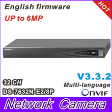 2014 Multi-language NVR 32CH Plug & Play 8CH PoE Up to 6MP Onvif Project level Network video recorder