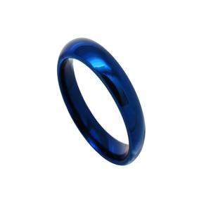 Image 4 - Ygk jóias 4mm/6mm/8mm cúpula azul anel de tungstênio clássico conforto ajuste design novo anel de presente de noivado de casamento masculino