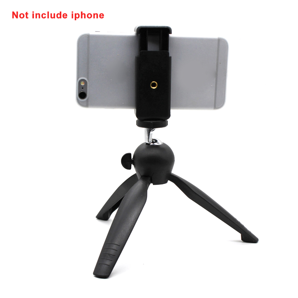 Photography Mini Rotation Gimbal Lightweight Bracket Phone Holder Camera Tripod For Smartphone Compact Ball  Foldable