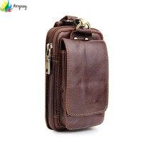 Hongmeng新しいユニバーサルpuレザー携帯電話バッグベルトクリップポーチウエスト財布ケースカバーのためのiphone 6 6 sプラス7 8プラ