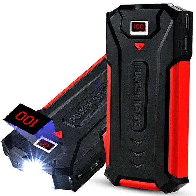 Dual USB 20000 мАч Быстрое Зарядное Устройство Банк СВЕТОДИОДНЫЙ Дисплей Powerbank кемпинг светодиод Внешний Аккумулятор для Универсального Мобильного телефона