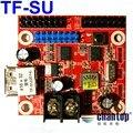 Navio livre TF-SU porta USB disco de U cartão de controle de led 416*32 pixels sem fio levou controlador para f3.75, f5.0, P10 módulo de tela de exibição
