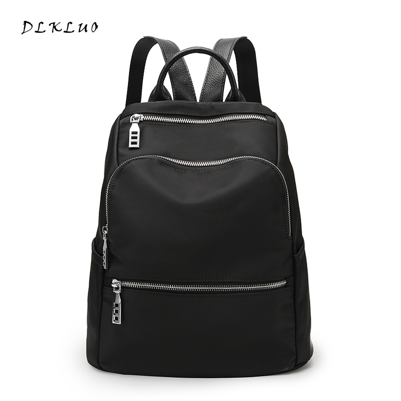 DLKLUO 2017 New Fashion leisure Women Backpack Waterproof bag for Teenage Girls Ladies Bags Mochila portable large Travel bag yesello practical small portable ice bags 4 color waterproof cooler bag lunch leisure picnic packet bento box food thermal bag