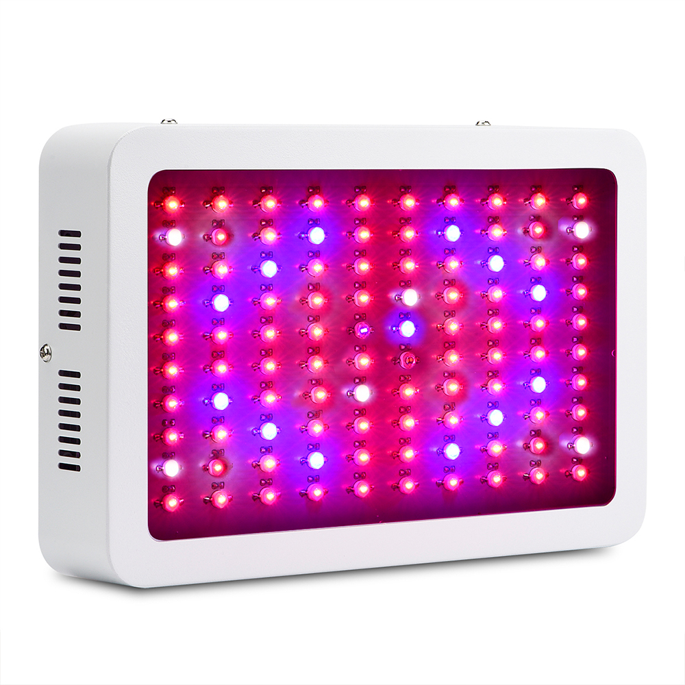 Hydroponics 300W LED Grow Light Full Spectrum Grow Light LED for Indoor Plant Veg and Blooming 300w grow led light ufo full spectrum 277leds smd5730 plant grow lamp for hydroponics system aquarium grow tent flowering