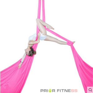 Image 2 - PRIOR FITNESS 8.2M Top Quality 9 Yards Yoga Aerial Silks Set For Acrobatic Fly Dance Performance Equipment inversion hammock