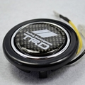 Carbon Fibre  Steering Wheel Horns Button for Toyota TRD