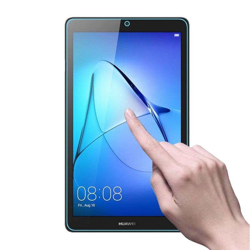 Screen Protector for Huawei Mediapad T3 T1 7 0 Tempered Glass For Huawei T3 7 inch Wifi BG2 W09 3G U01 T1 701u Protective Glass in Tablets e Books Case from Computer Office