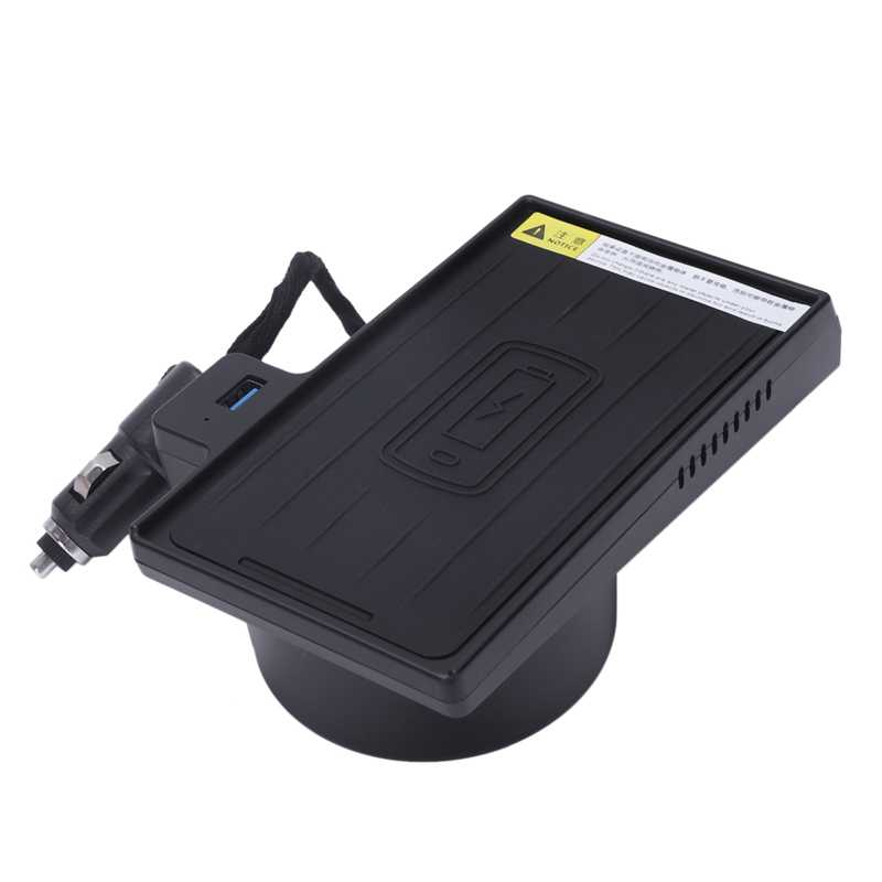 10W bezprzewodowa ładowarka qi szybka ładowarka uchwyt samochodowy bezprzewodowa ładowarka do Bmw X5 X6 2014-2019 dla Iphone 8 X Xs Max dobrze dla Carplay