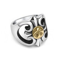316 LStainless Steel Jewelry Exclusive Eagle Ring Retro Personality Russian Ring Men S Gold Silver Men