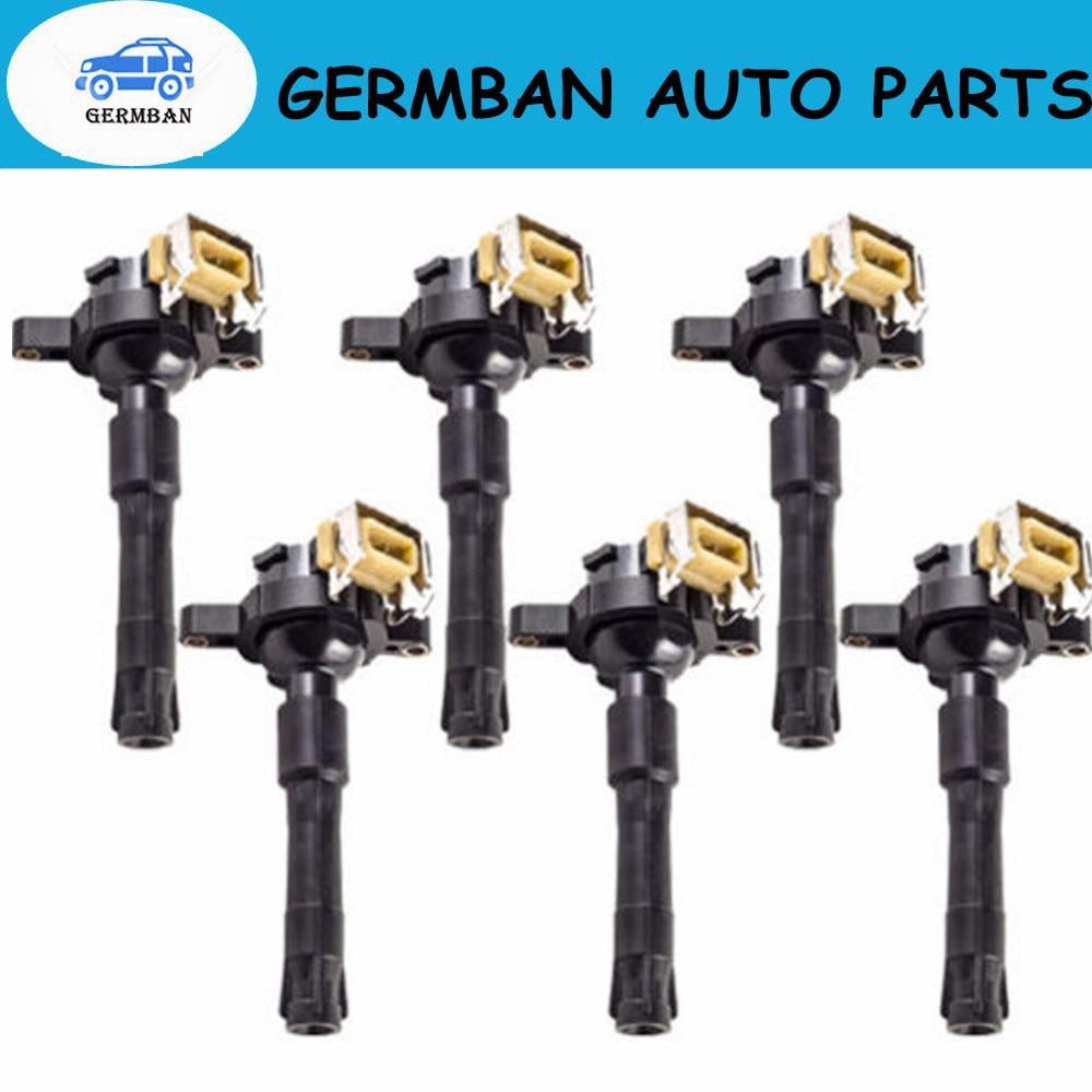 For 2003 BMW X5 l6 V8 3.0 4.4 4.6 Ignition Coil