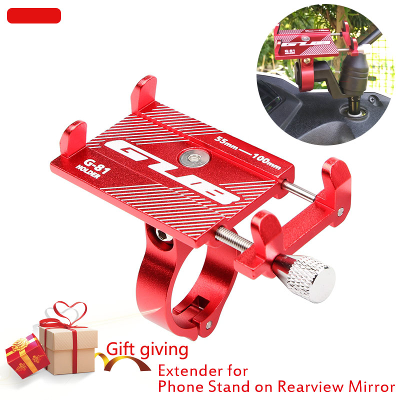 Aluminum Alloy Mobile Phone Stands MTB Bike Bicycle Motorcycle Phone Holder Support GPS Moto Holder For 3.5