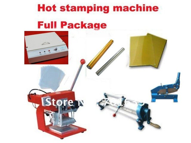 Hot foil stamping press home business start up package kit diy pvc hot foil stamping press home business start up package kit diy pvc gift card making colourmoves