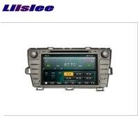 Toyota Prius 2009 ~ 2015 için LiisLee Araba Multimedya TV DVD GPS Ses Stereo Hi-Fi Radyo Orijinal Tarzı Navigasyon NAV NAVI