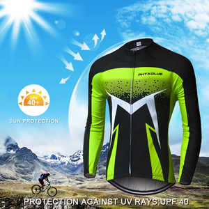 Image 3 - Phtxolue Breathable Long Sleeve Cycling Set Mountain Bike Clothing Autumn Bicycle Jerseys Clothes Maillot Ropa Ciclismo