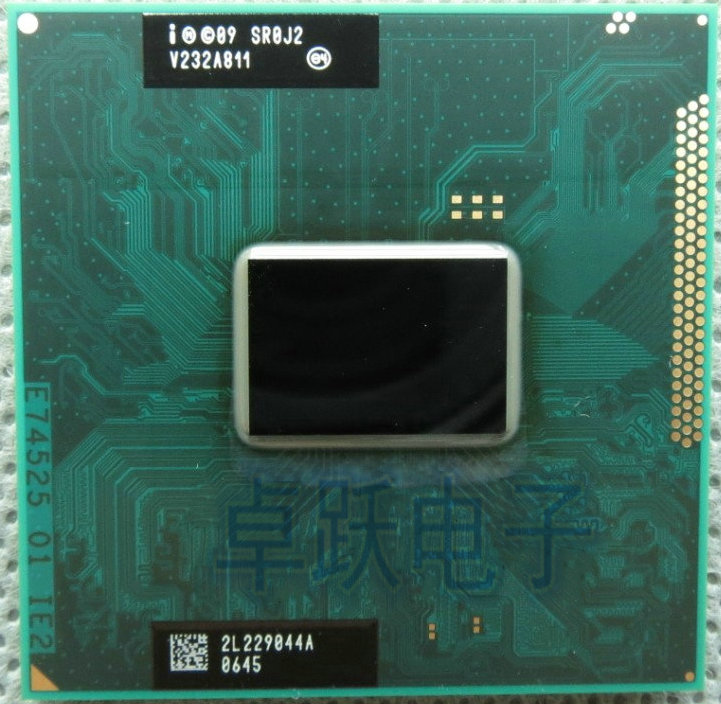 Оригинальный ЦП intel Pentium Процессор B970 SR0J2 2,3 г 2 м кэш B 970 для HM65 PM65 HM67, бесплатная доставка