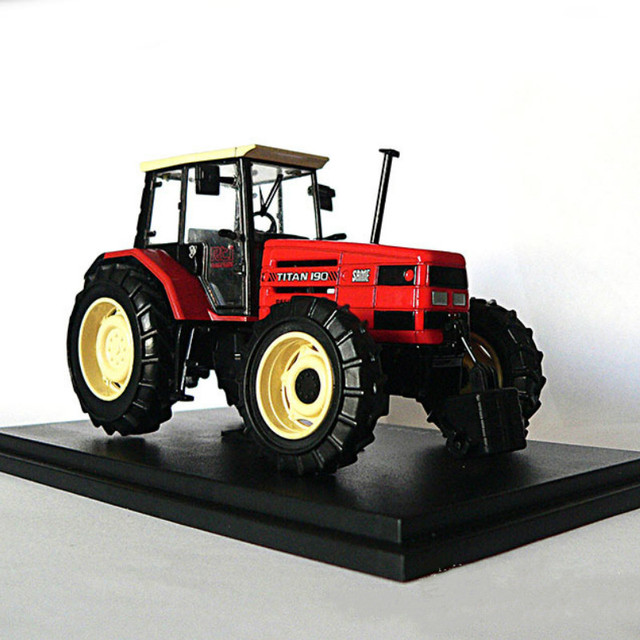 1:43 Same Titan 190 1992 Agricultural Machinery Tractor Static Diecast Models Toys Cars