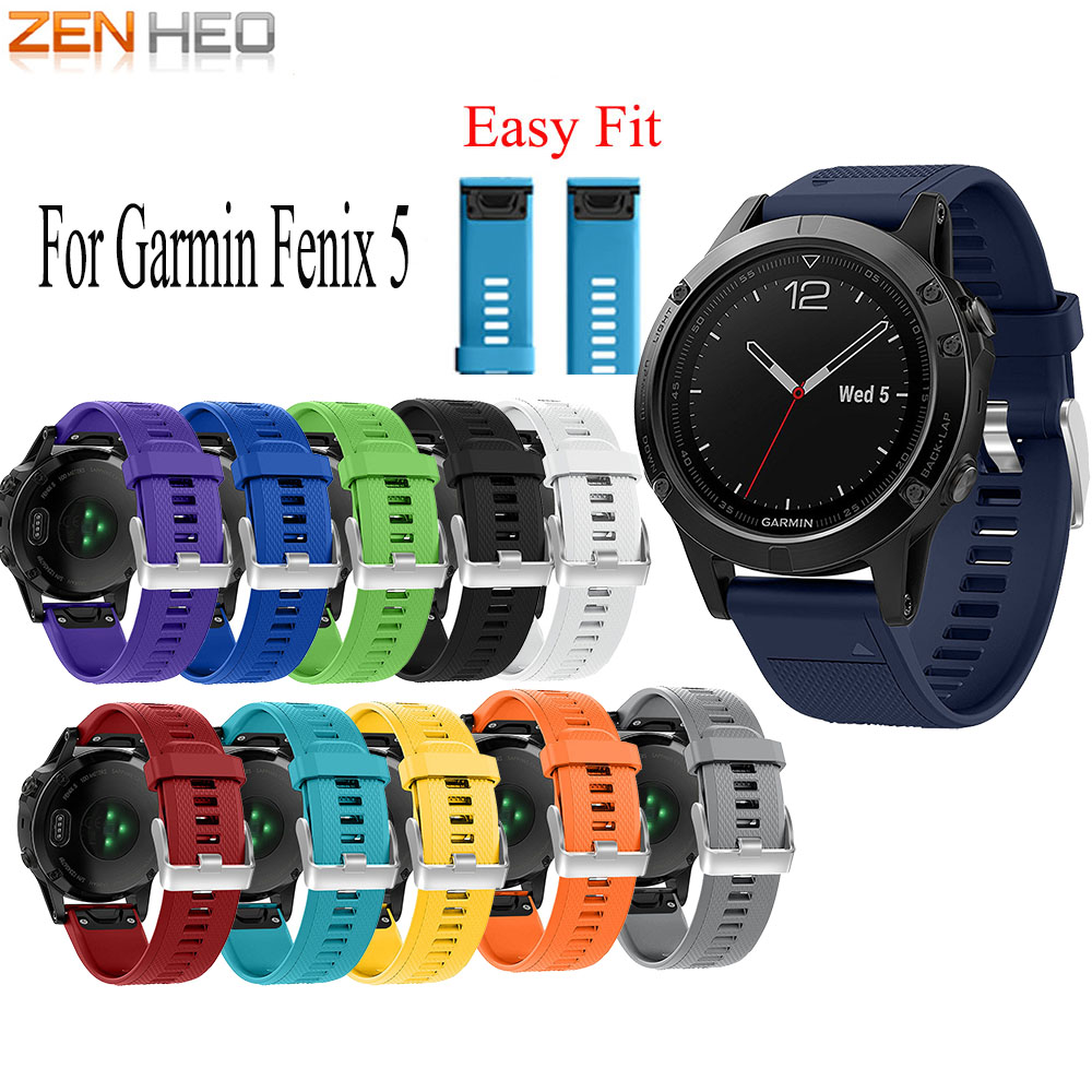 Watch-Band Garmin Fenix Quick-Release 935-Strap 5/5plus-Band 22mm for Easyfit