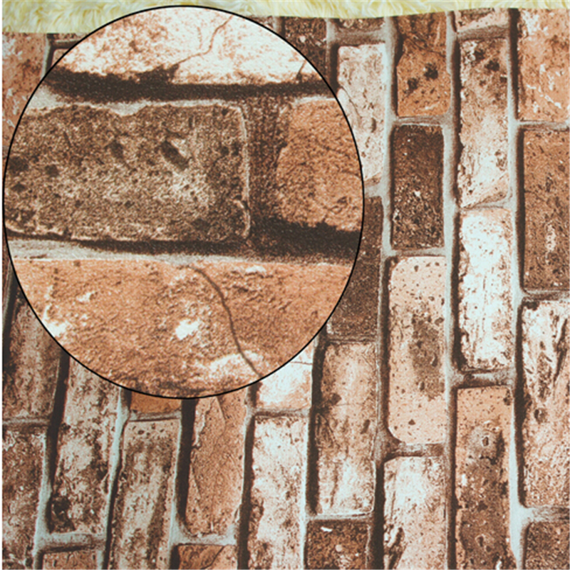 beibehang Natural stone design brick wall wallpaper Stone Rock Effect Vinyl Wall paper Roll contact paper papel de parede 3d