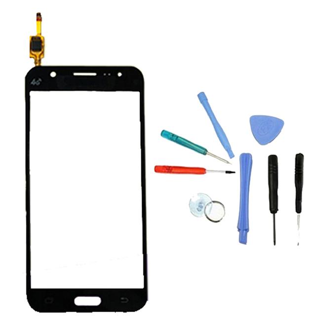 Lingwuzhe teléfono celular herramientas de reemplazo de pantalla frontal táctil de cristal digitalizador lente para samsung galaxy j5 j500 j500f