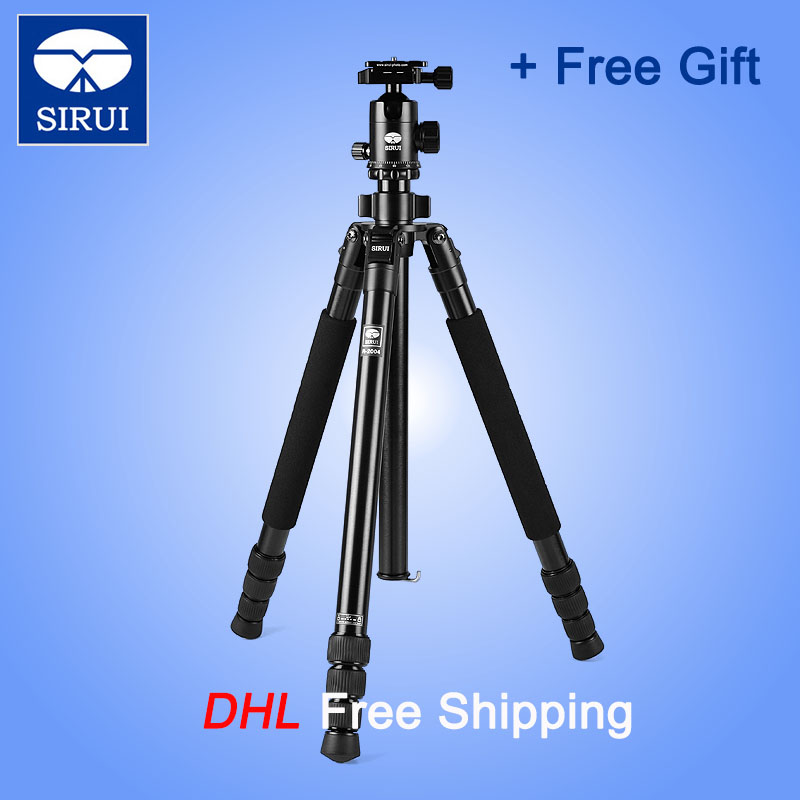 Sirui DHL Tripod Ball Head For Digital DSLR Camera Professional Photo Studio Accessories Aluminum Camera Holder R2004+G20KX