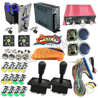 DIY Arcade Bundles Kits Parts Pandora Box 5S+ 960 in 1 With Power Supply Jamma wiring Joystick illuminated Push Button