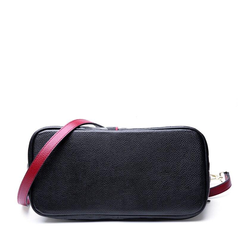 Dame Über Handtasche Echtem Frauen Aus Mode Große 2019 Schulter blacka Blackb Neue Tasche Brief Leder Tote Taschen nUB4Uf