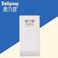 Delipow pil 9 V 9 V 9 volt şarj edilebilir pil şarj akıllı hızlı şarj slayt dokuz volt K9 Şarj Edilebilir Li-Ion cep