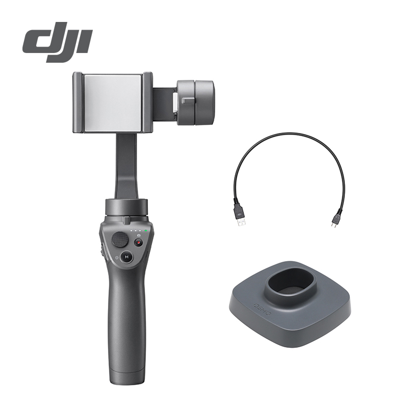 DJI Осмо мобильный 2 3 оси Ручной Стабилизатор для смартфона 3 оси ручной карданный стент зум Управление панорама