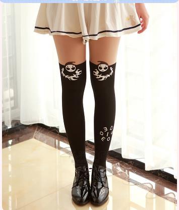 OW D. VA/гольфы для косплея для женщин и девочек; длинные носки в стиле Лолиты; 6 стилей; вечерние носки на Хэллоуин