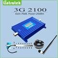 3 г усилитель сигнала UMTS HSPA WCDMA 2100 мГц 3 г повторителя полный комплект с 9 единицу яги и кнут комнатная антенна