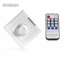 AC85-265V 300 W LED Dimmer 14 Tombol IR Tombol Remote Control Switch untuk Dimmable LED Bulb atau LED Strip LED lampu Downlight Panel Light(China)