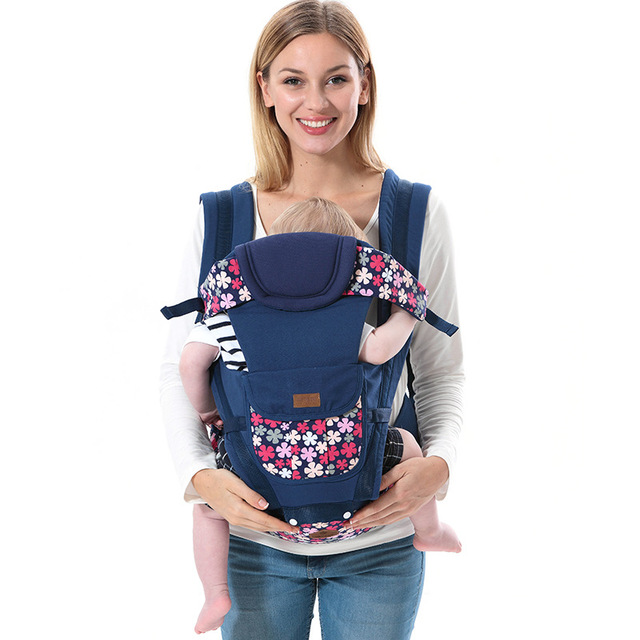 b2f8a83057e Kids Shoulders Carry Baby Kangaroo Suspender Sling Wrap 2-36 Months Baby  Carrier Hip Seat