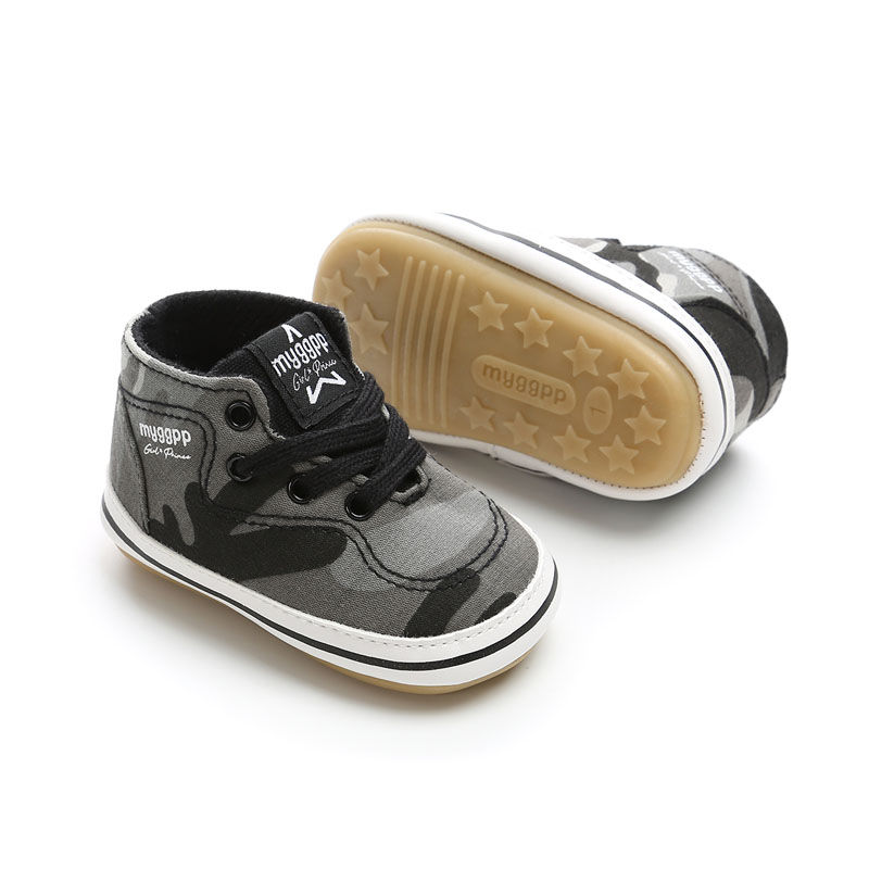 f0a279a23e85 Baby Boys Girls Shoes First Walkers autumn Canvas Cotton Newborn Baby  Sneakers Soft Causal Shoes For