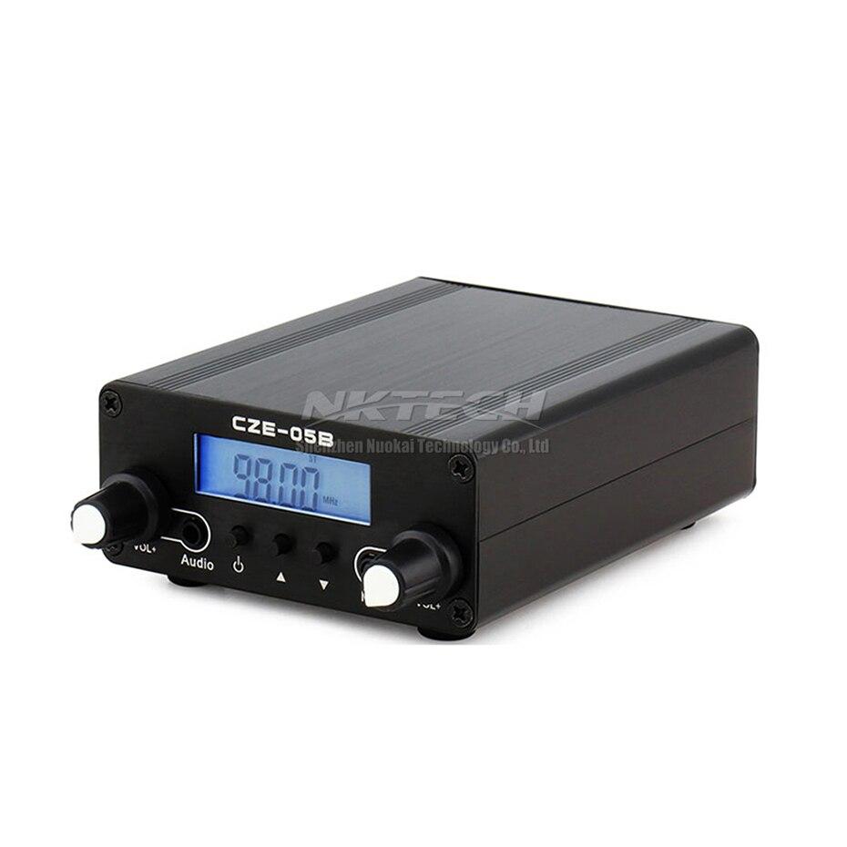 NKTECH PLL ESTÉREO FM Transmisor de Radio en la estación de transmisión CZE-05B 100 mW/500 mW frecuencia 76-108Mhz a casa AMPLIFICADOR DE CAMPO DE doble modo - 3