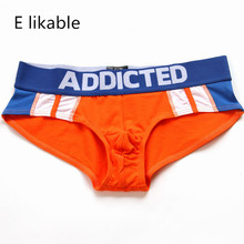 E likable new stylish low-rise mens underwear comfortable breathable briefs (4 colors optional)